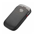 BlackBerry Etui cuir écologique noir - BlackBerry Curve 9320