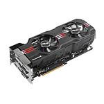 Asus GeForce GTX 680 DCUII - 2 Go  (GTX680-DC2O-2GD5)