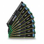 Corsair XMS3 8 x 8 Go DDR3 1333 MHz CAS 9