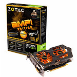 Zotac GeForce GTX 660 Ti AMP Edition - 2 Go