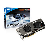 MSI Radeon HD 7950 Twin Frozr 3 V2 OC - 3 Go