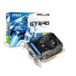 MSI GeForce GT 640 - 2 Go (N640GT-MD2GD3 V3)