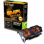 Zotac GeForce GTX 660 AMP Edition - 2 Go