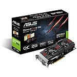 Asus GeForce GTX 660 OC - 2 Go (GTX660-DC2O-2GD5)