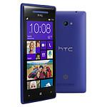 HTC Windows Phone 8X (bleu)