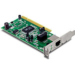 TrendNet TEG-PCITXRL - Carte PCI Gigabit Low Profile