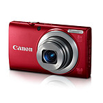 Canon PowerShot A4000 IS Rouge