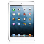 Apple iPad Mini - Wi-Fi + Cellular - 64Go (blanc)
