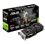 Asus GeForce GTX 660 DCU2T -  2 Go (GTX660-DC2TG-2GD5)