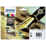 Epson T1636 XL Multipack BK/C/M/J - C13T16364010