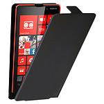 Etui à rabat (noir) - Lumia 820