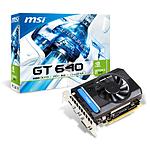 MSI GeForce GT 640 - 2 Go (N640-2GD3/V1)