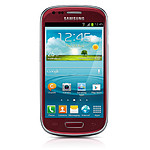 Samsung Galaxy S3 mini (rouge)