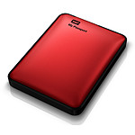Western Digital (WD) My Passport USB 3.0 - 500 Go (rouge)
