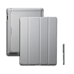 Cooler Master Wake Up Folio Carbone + Stylet – Argent