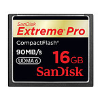 Sandisk CompactFlash Extreme Pro 16 Go 90Mo/s