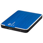 Western Digital (WD) My Passport Ultra USB 3.0 - 500 Go (bleu)