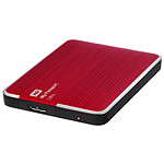 Western Digital (WD) My Passport Ultra USB 3.0 - 500 Go (rouge)