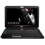 MSI GX60 3BE-246XFR - Hitman Edition 2 - Sans OS