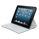 Logitech Etui clavier iPad FabricSkin (Noir)