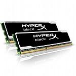 Kingston Kit HyperX Black DDR3 2 x 4 Go PC12800 CAS 9