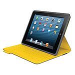 Logitech Etui clavier iPad FabricSkin (Gris)