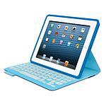 Logitech Etui clavier iPad FabricSkin (Bleu)