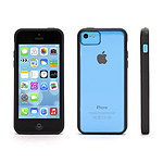 Griffin Coque Reveal (noir/transparent) - iPhone 5c