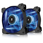 Corsair AF120 LED Bleu Quiet Edition - Dual pack