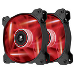 Corsair AF120 LED Rouge Quiet Edition - Dual pack