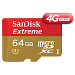Sandisk Mobile Extreme microSDHC 64 Go 4G (45Mo/s)