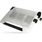 Cooler Master Support ventilé - NotePal U3 Plus (argent)