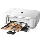 Canon PIXMA MG3550 Blanc + DVD Monstres & CIE Offert