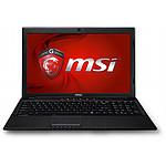 MSI GP60 2OD-410XFR - Sans OS