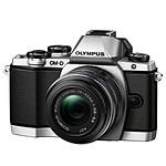 Olympus OM-D E-M10 Silver + 14-42 mm IIR
