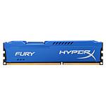 HyperX Fury Blue DDR3 1 x 8 Go 1600 MHz CAS 10
