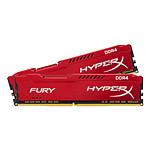 HyperX Fury Red DDR3 2 x 4 Go 1600 MHz CAS 10
