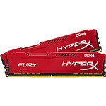 HyperX Fury Red DDR3 2 x 4 Go 1866 MHz CAS 10