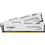 HyperX Fury White DDR3 2 x 4 Go 1866 MHz CAS 10