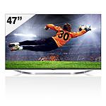 """LG TV LED 3D LB730 47"""" (47LB730V)"""