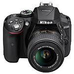 Nikon D5300 + AF-S DX 18-55mm VR II