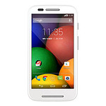 Motorola Moto E (blanc)