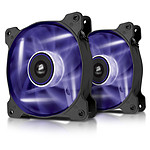 Corsair SP120 High Static Pressure LED Violet - Dual pack
