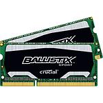 Ballistix SO-DIMM Sport DDR3L 2 x 4 Go 1600 MHz C9
