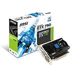MSI GeForce GTX 750 OC V1 - 2 Go