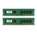 Crucial 8 Go (2 x 4 Go) DDR4 2133 MHz CL15 SR