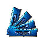 G.Skill Ripjaws 4 Blue DDR4 4 x 8 Go 2133 MHz CAS 15