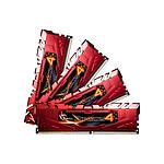 G.Skill Ripjaws 4 Red DDR4 4 x 4 Go 3000 MHz CAS 15