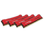 Kingston HyperX SAVAGE DDR3 4 x 8 Go 2400 MHz CAS 11