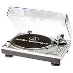 Audio-Technica Platine disque vinyle AT-LP120-USBHC Silver